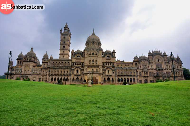 The amazing Lukshmi Vilas Palace was built in 1890.