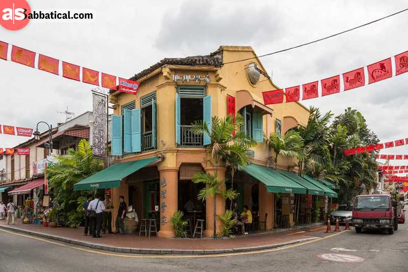 The various colonial architecture in Malaysia indicates at a long colonial history.