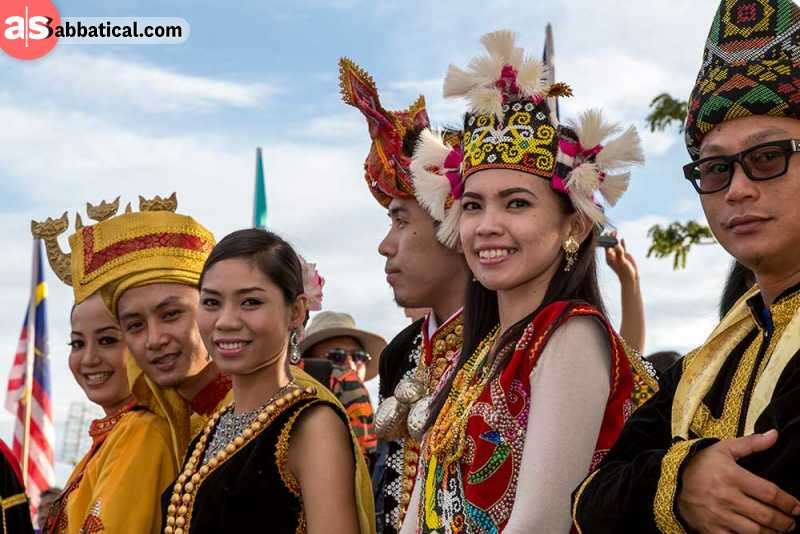 Malaysian people are multicultural, their country is a heritage of many different influences.