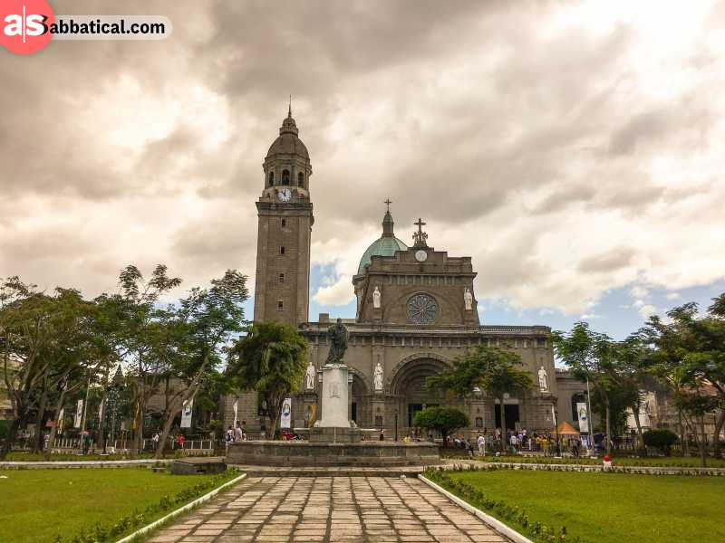 Manila has had a very long history, and there are a lot of Spanish influences still around.