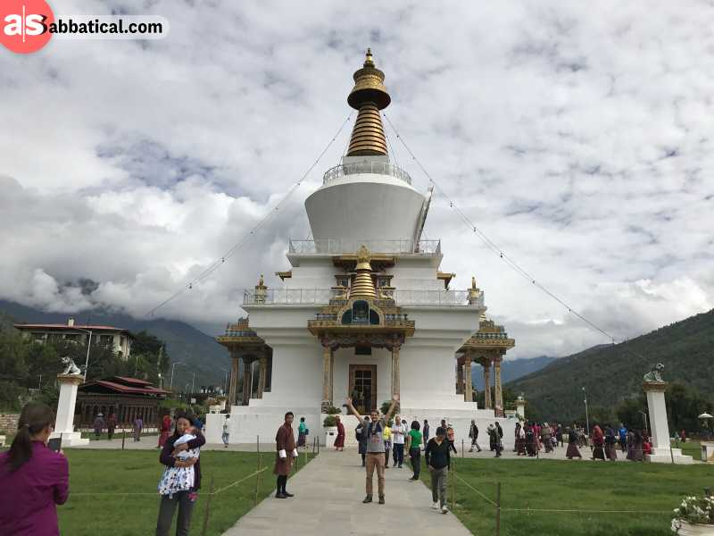 Visit Memorial Chorten in Thimphu if you're interested in history.
