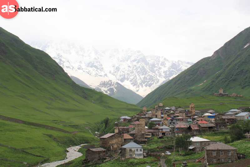 The trek from Mestia to Ushguli is the most popular one, and it's easy to guess why.