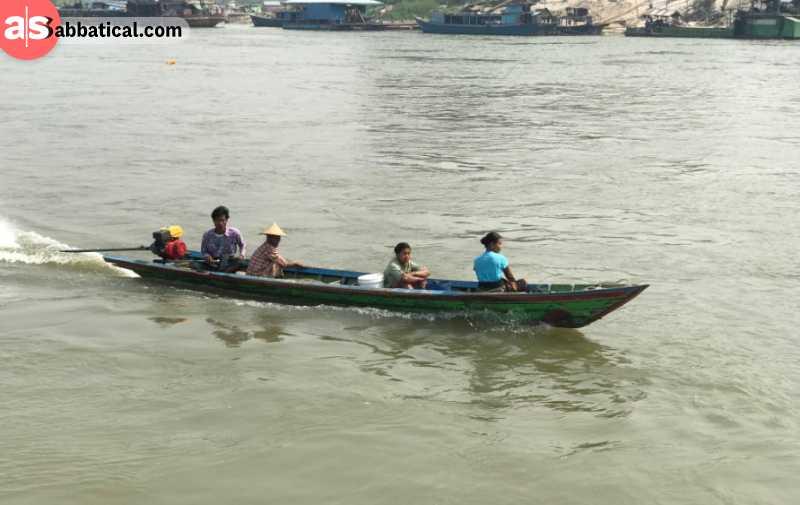 Mingun ferry