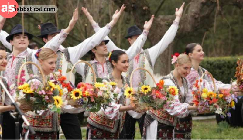 Moldova is a land of traditions, and Moldavian people seem to always be happy.