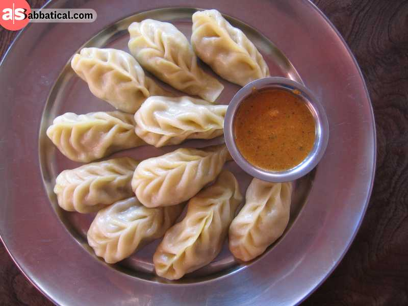 Momo is a very popular food that is found in Nepal and other neighbouring countries.