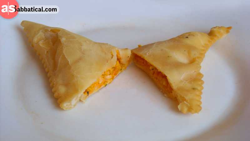 Barbagiuan is the delicious national dish of Monaco.