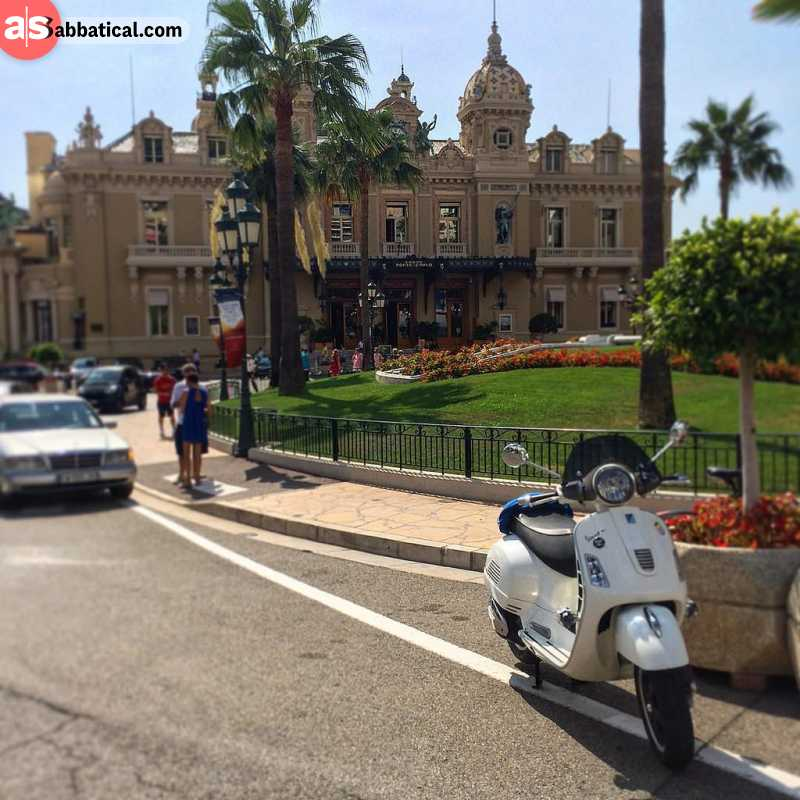 You can always rent a scooter in Monaco and explore it at your own leisure!