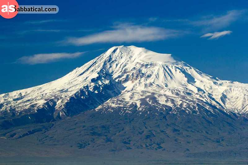 Mount Aratat is an important place in Turkey's culture.