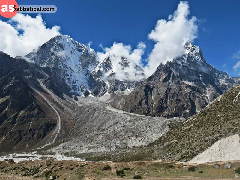 Mount Everest is one of the most popular trekking destinations in the world.
