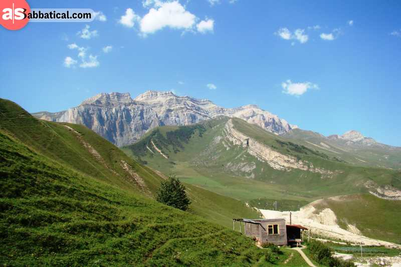 The Mount Shahdagh region can fill your entire journey.
