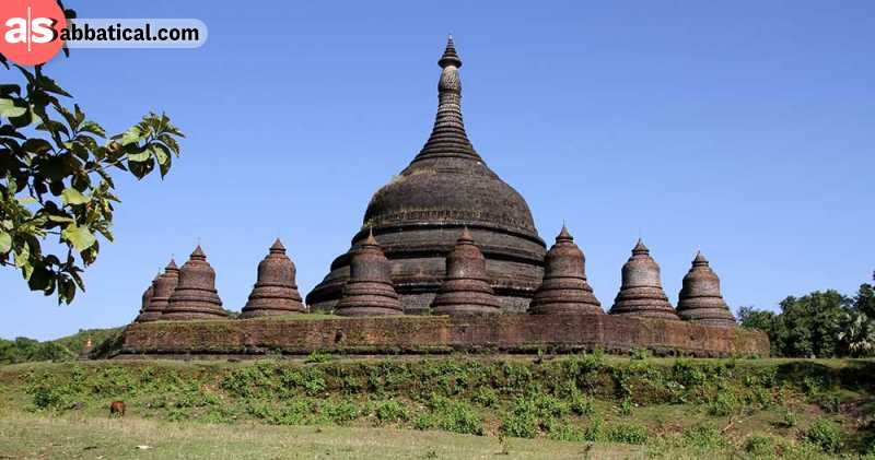 Mrauk U is a huge archeological site that tells us about the power of Burma in ages long gone.