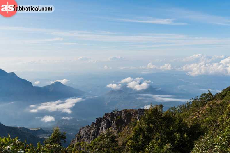 Amazing view from Mt. Ramelau, the highest peak in Timor Leste.