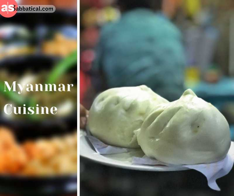 Myanmar has very delicious and diverse cuisine, so it's best to just enjoy it!