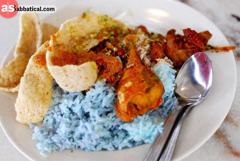 Malay cuisine is a mixture of weird and aromatic, and Nasi Kerabu is a prime example of that wondrous cuisine.