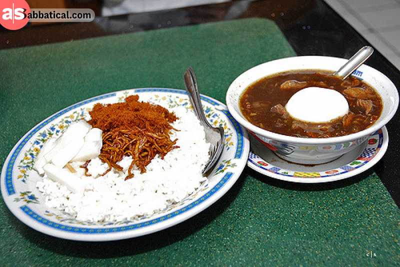 Nasi Rawon is just another showcase of how diverse the Indonesian cuisine is.