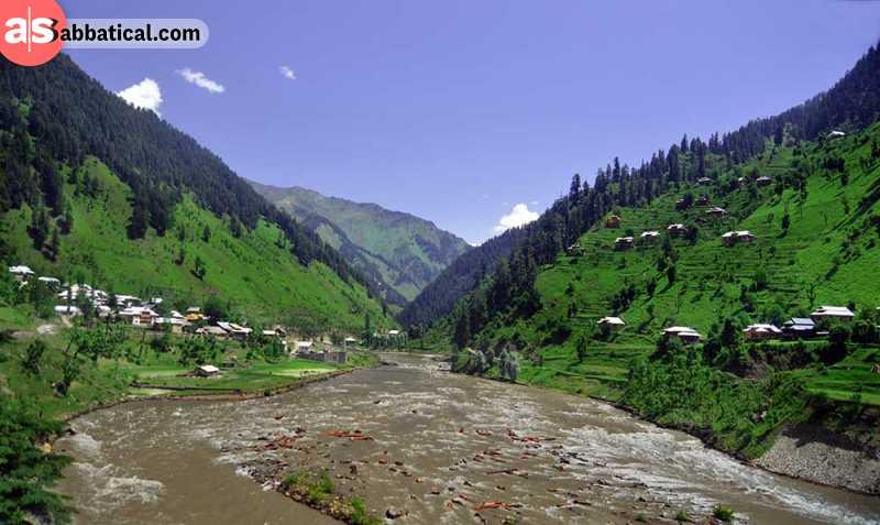 Neelum Valley is just one of the beautiful green valleys of Pakistan.