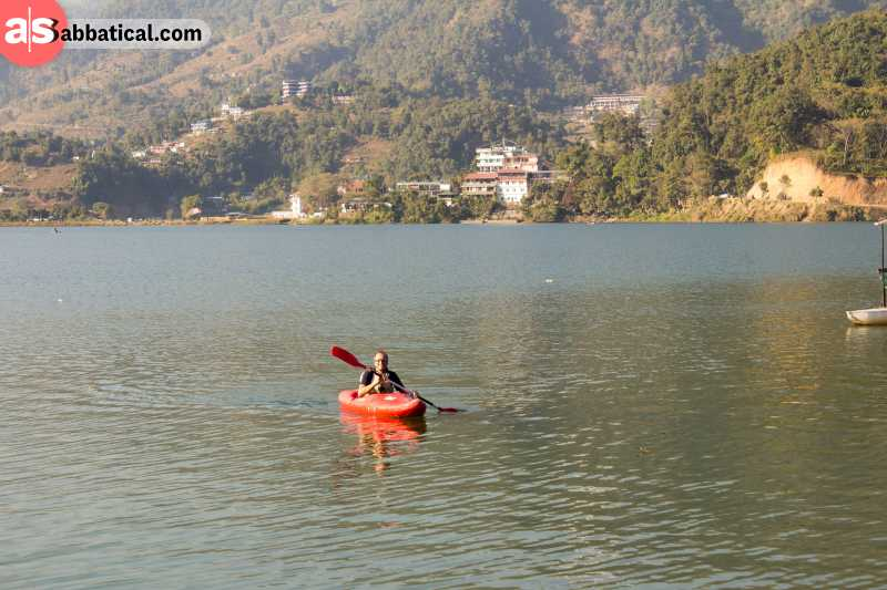 There are lots of kayaking courses around Nepal!