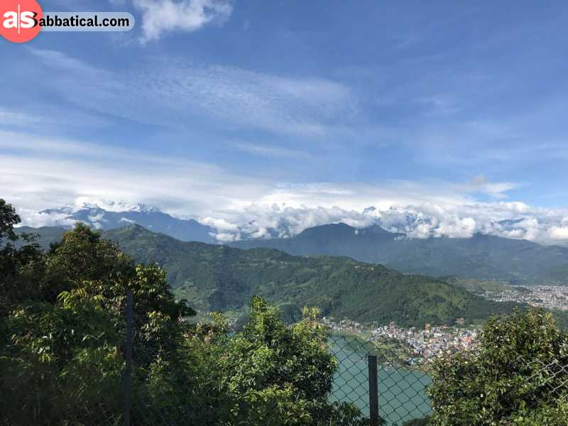 The fastest and longest zipline is located in Nepal, near Pokhara.