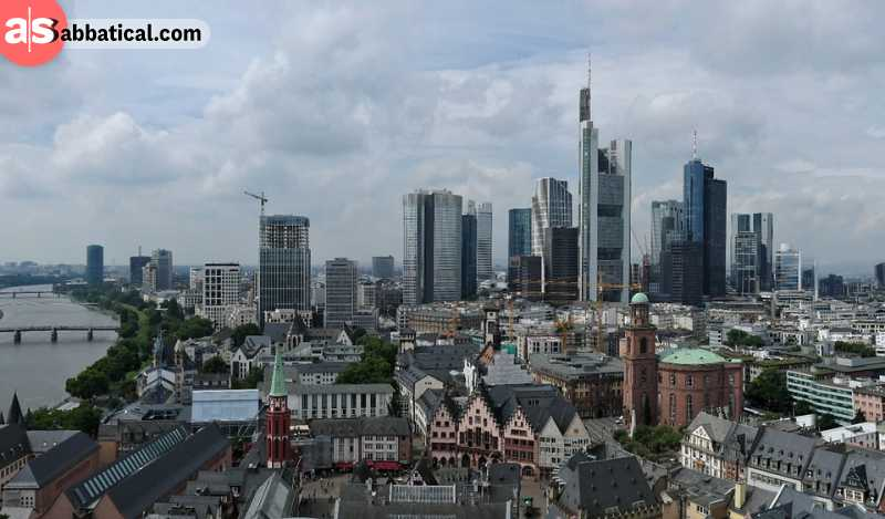 Frankfurt Am Main is a perfect mix of old and new.