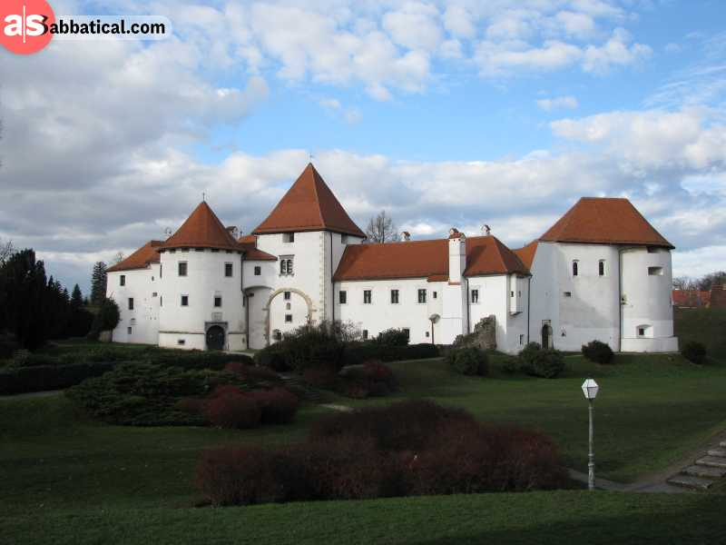 Old Town in Varazdin, a city that is often overlooked by many because of its location in the far north.