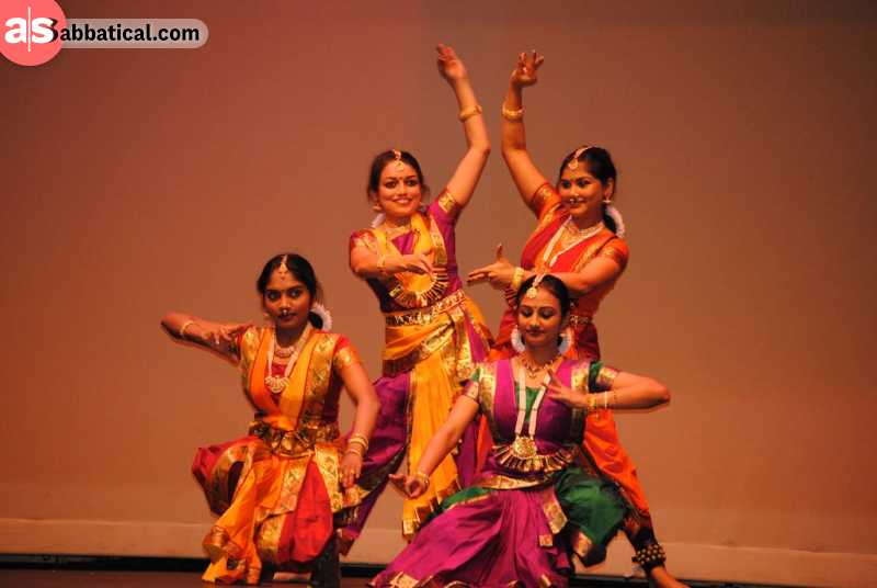 The celebrations of Onam last for ten days, and are accompanied by a traditional dance, Kathalaki.