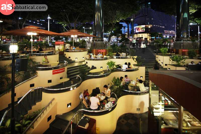 Orchard Road is the go-to place for shopping in Singapore.