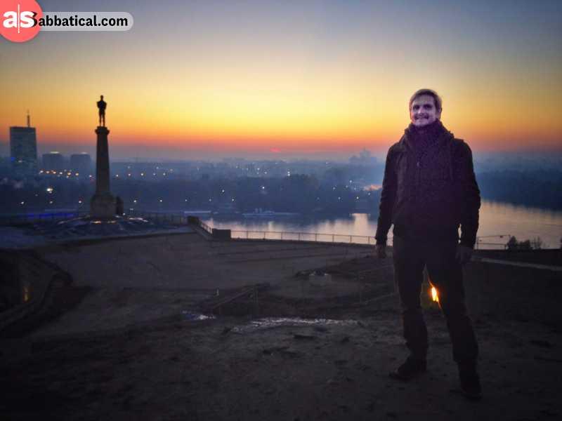 Overlooking Belgrade
