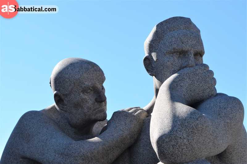 overthinking statue