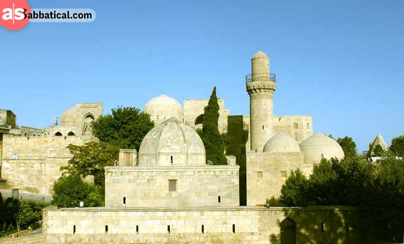 The magnificent palace of Shirvanshahs.