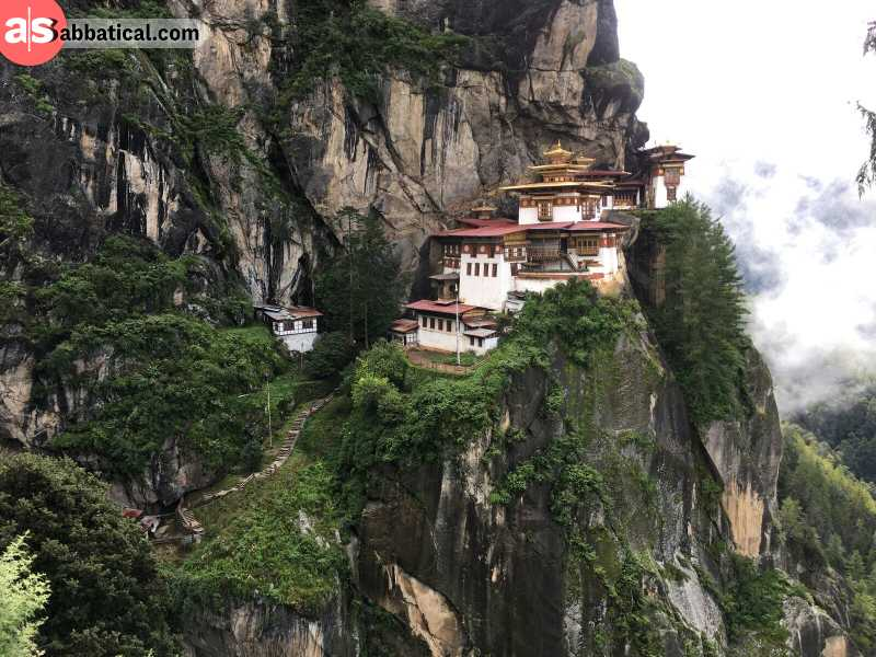 The mystic Paro Taktsang monastery is called Tiger's Nest for a good reason.