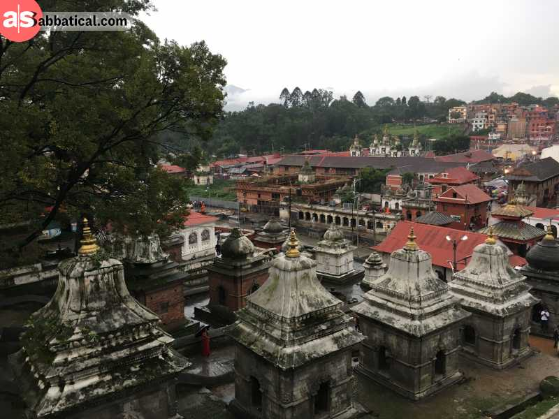 The Pashupatinath Temple is an UNESCO Heritage Site and the most important Hindu temple in Nepal.