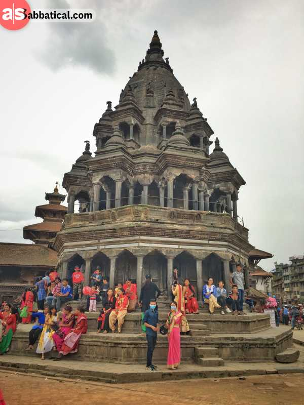 Patan is a small town with a historic charm that also has a Durbar Square.