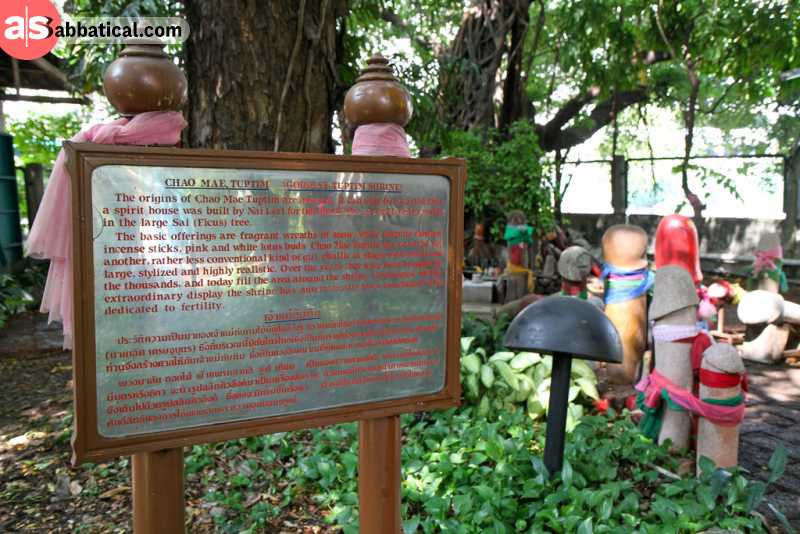 Penis shrine is one of the unusual things on the what to do in Bangkok list.