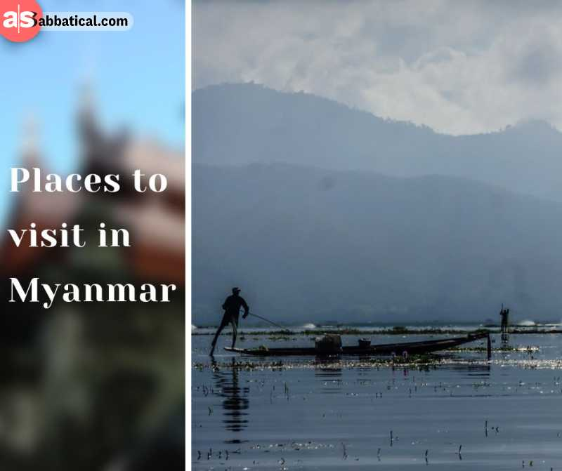 Where is Myanmar, there are numerous places to visit, and here are just a few of them!
