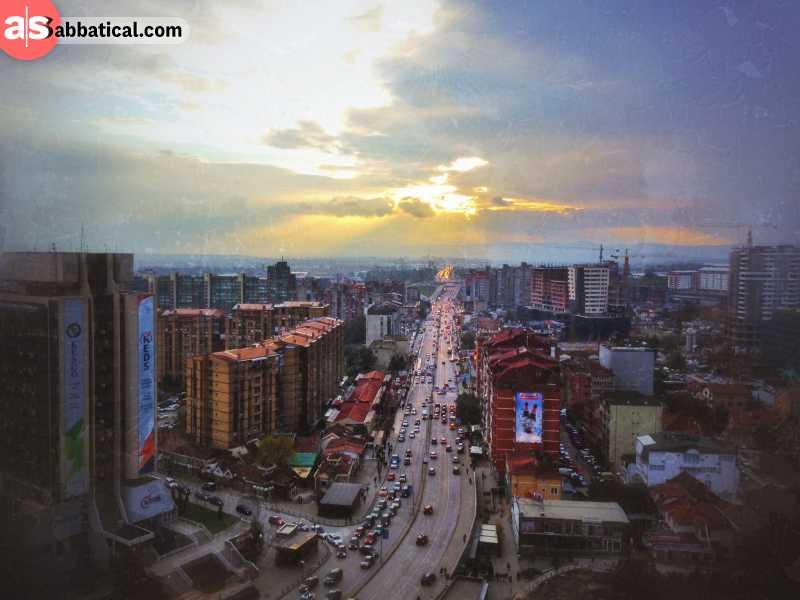 Amazing view of Pristina