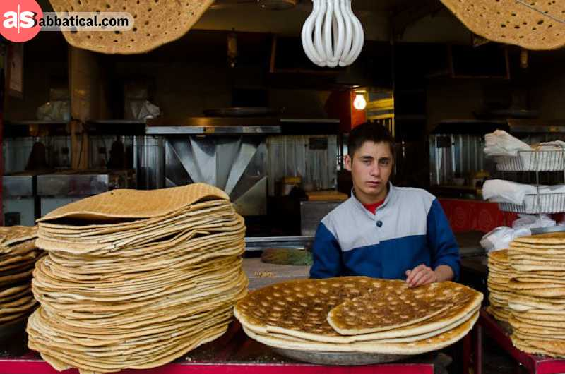 Qandi is an Iranian sweet bread.