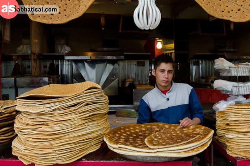 Qandi is an Iranian sweet bread.