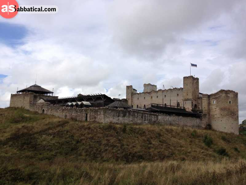 Rakvere Castle is looking absolutely historic and amazing