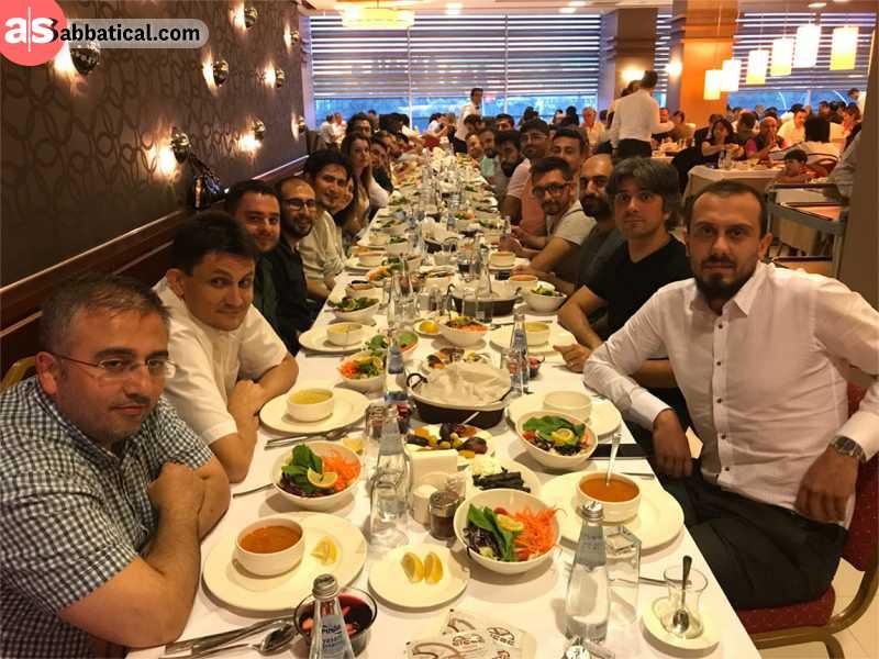 A delicious Ramadan feast.