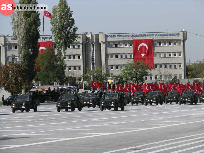 Republic Day in Turkey is celebrated on October 29nd.