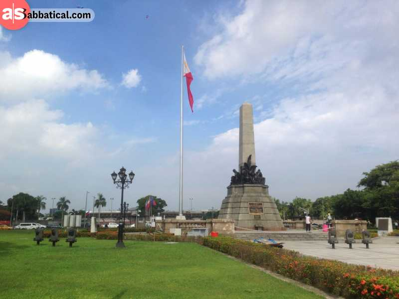 Rizal Park is the largest park in Manila.