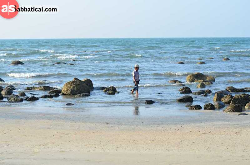 Saint Martin Island is a lovely place to recharge your batteries while staying in Bangladesh.