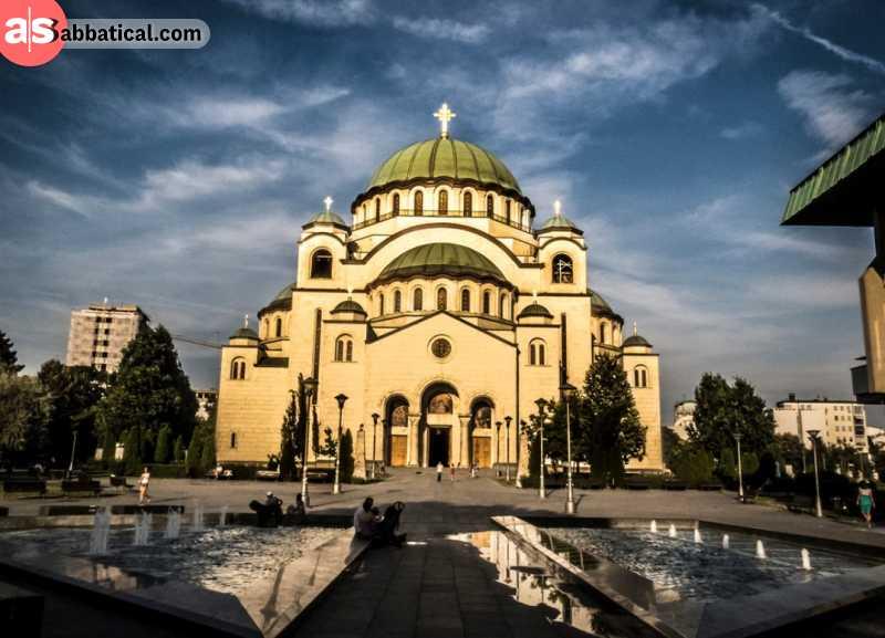 Stunning Saint Sava Temple