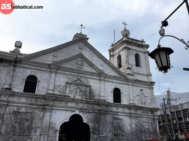 The Santo Nino Basilica where the famous Christian shrine is located.