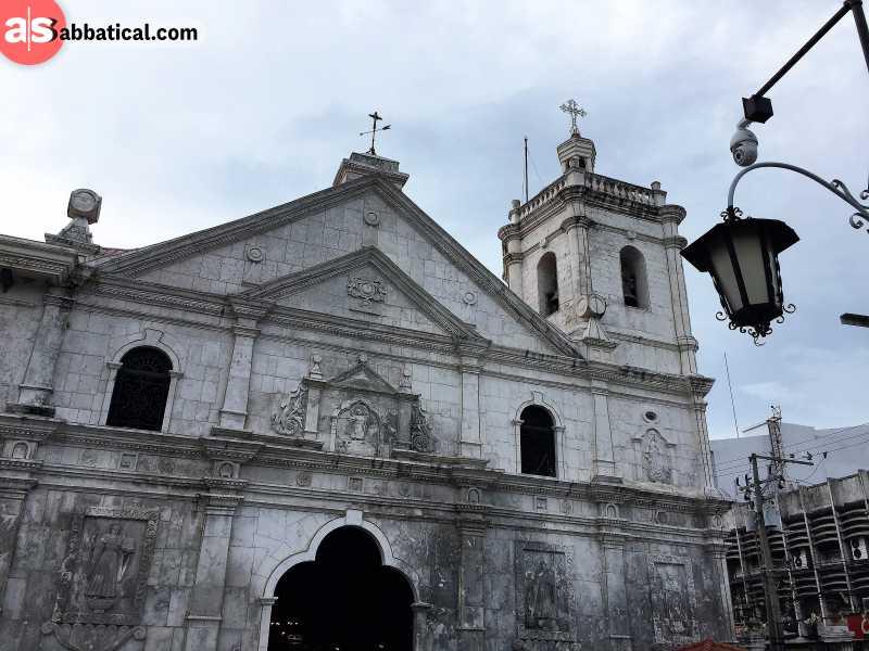 The Santo Nino Basilica where the famous Christian shrine is located.