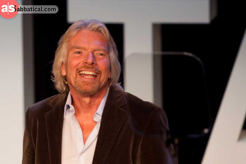Richard Branson details his steps to success in the bestseller 'Screw It, Let's Do It'.