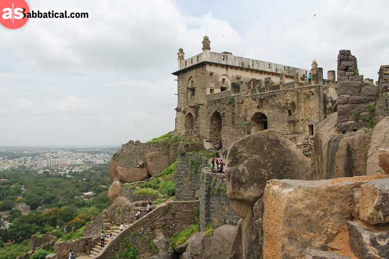 It is said that one of the secrets of Golconda Fort is the underground tunnel that leads to one of the palaces on the bottom of the hill.