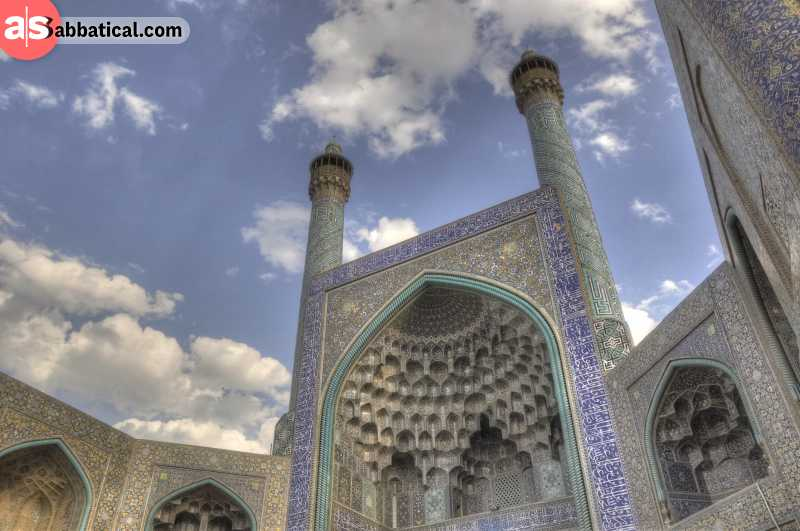 Shah Mosque in Isfahan is a true wonder of Persian architecture.