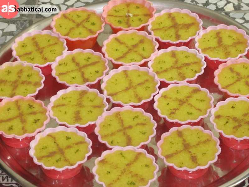 Shole Zard is a saffron rice pudding.
