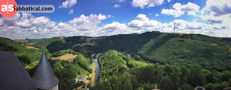 Majestic sights like this one are a pretty common occurrence in Luxembourg.
